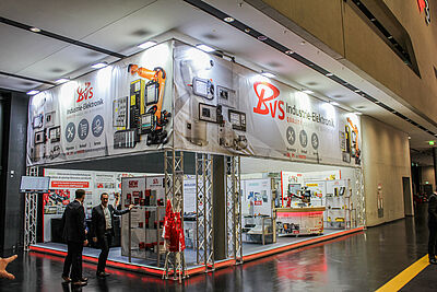 [Translate to Magyar:] SPS IPC DRIVES 2019 Messestand