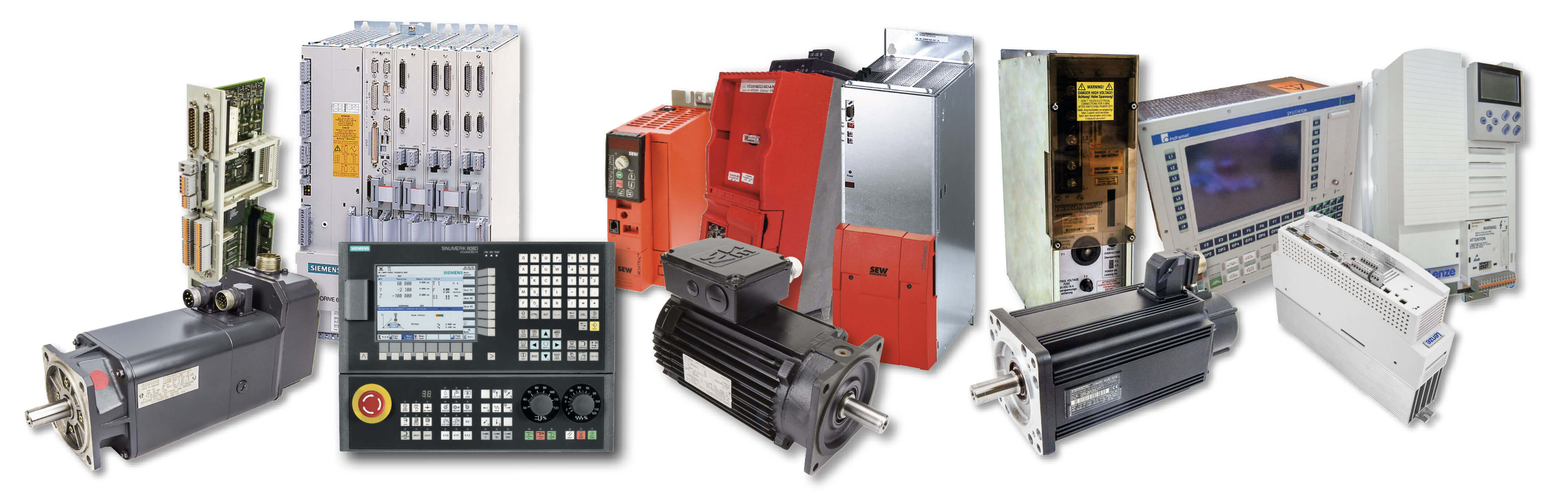 CNC - Unser Portfolio - Collage - BVS Industrie-Elektronik