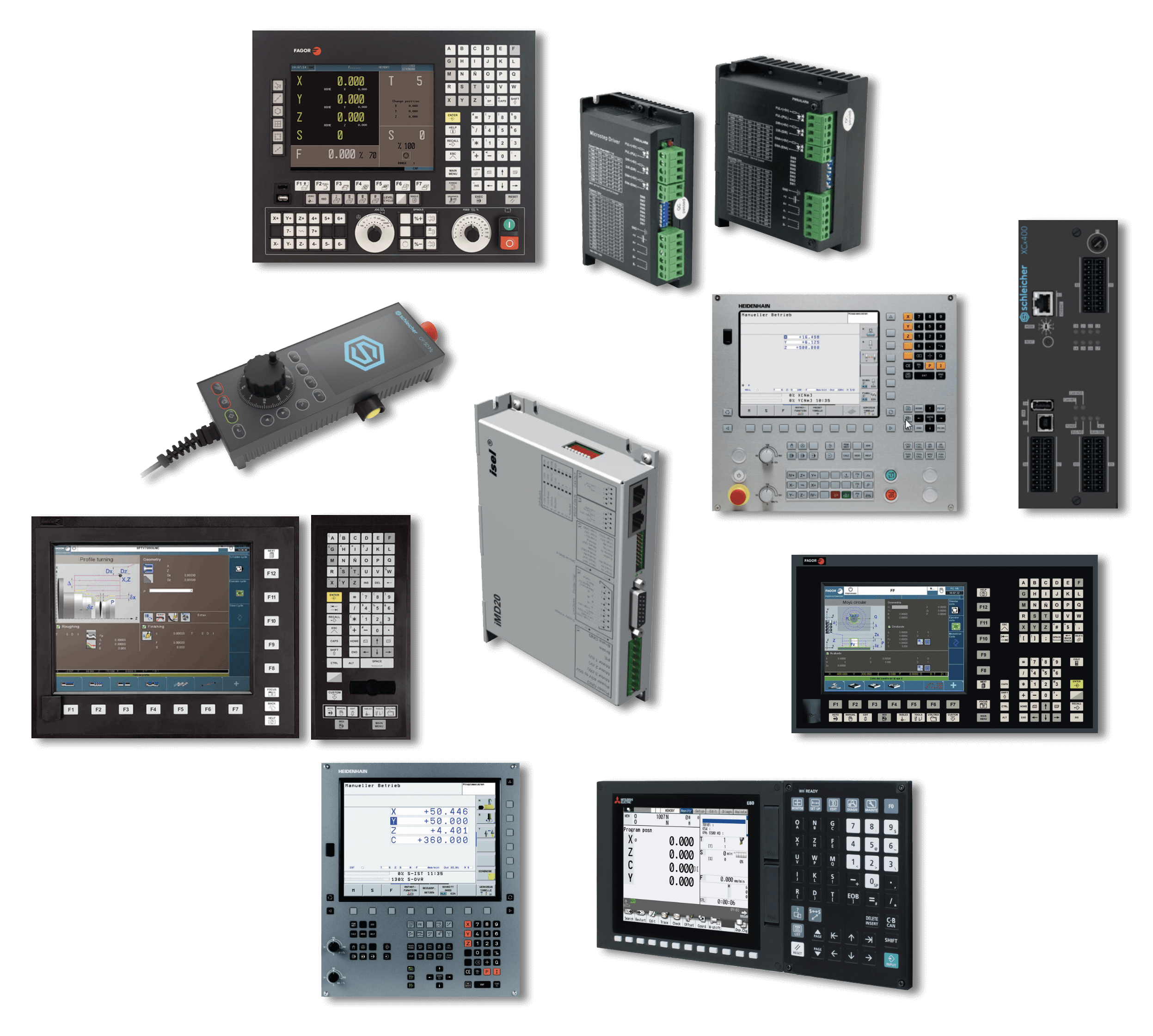CNC - Our Product Range - Other Manufacturers - BVS Industrie-Elektronik