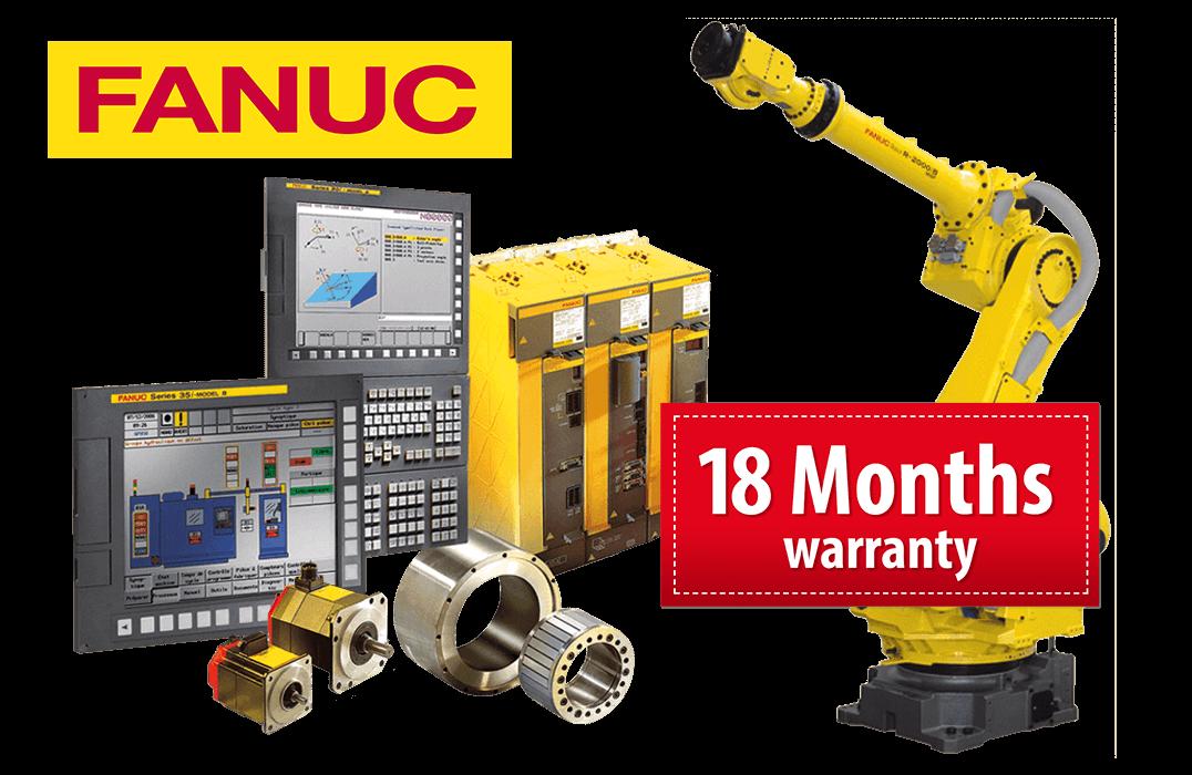 FANUC Repair - FANUC Spare Parts - FANUC Service | BVS