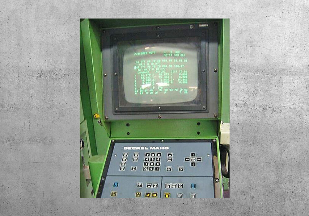 Deckel CNC 432 original - BVS Industrie-Elektronik