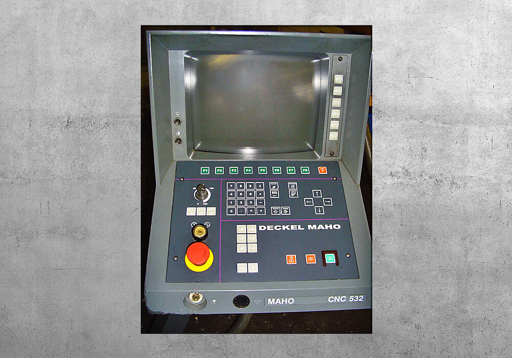 Deckel CNC 532 original - BVS Industrie-Elektronik