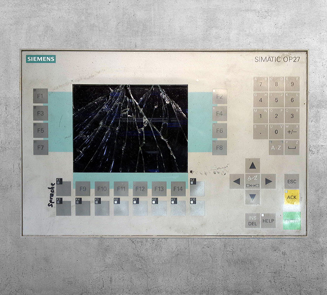 Original Siemens OP25/27 defekt - BVS Industrie-Elektronik