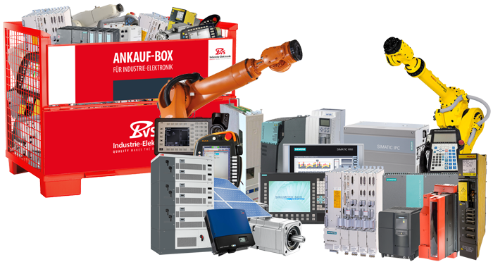 Repair, sale and service of CNC, PLC and robot automation technology – BVS Industrie-Elektronik GmbH