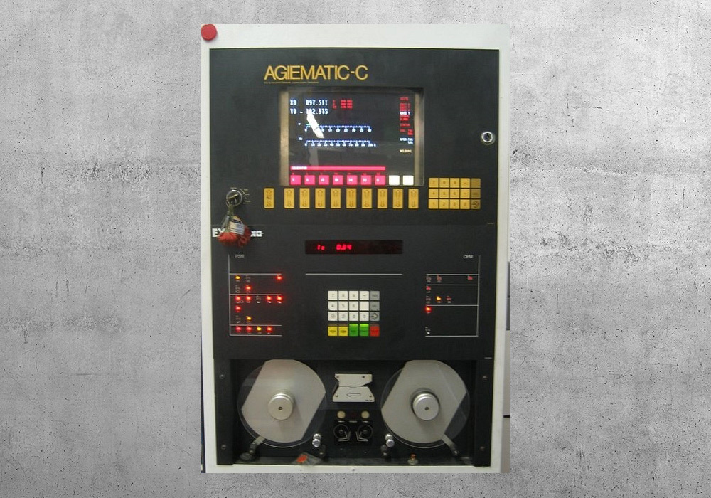 Agiematic C-100c retrofit- BVS Industrie-Elektronik