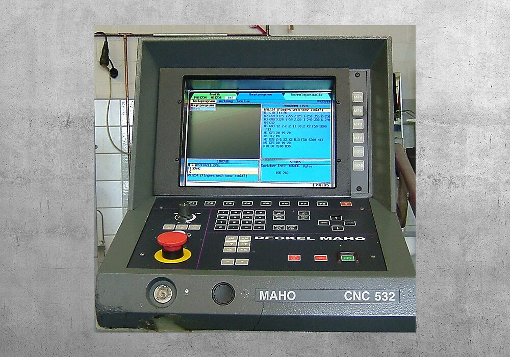 Deckel CNC 532 reacondicionado - BVS Industrie-Elektronik