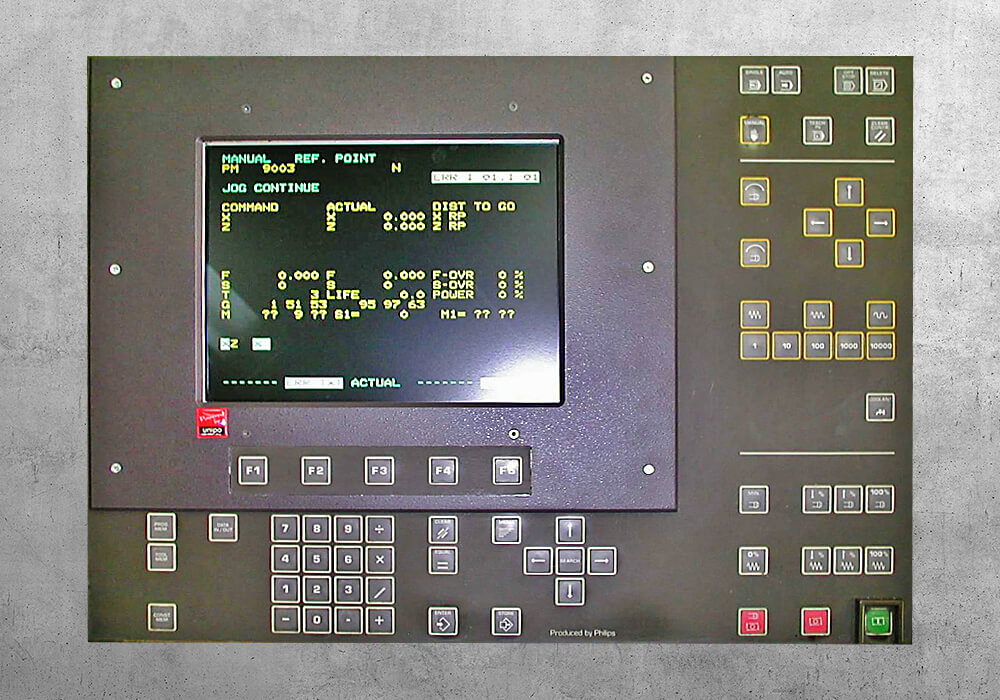 Philips CNC 3580 retrofit - BVS Industrie-Elektronik