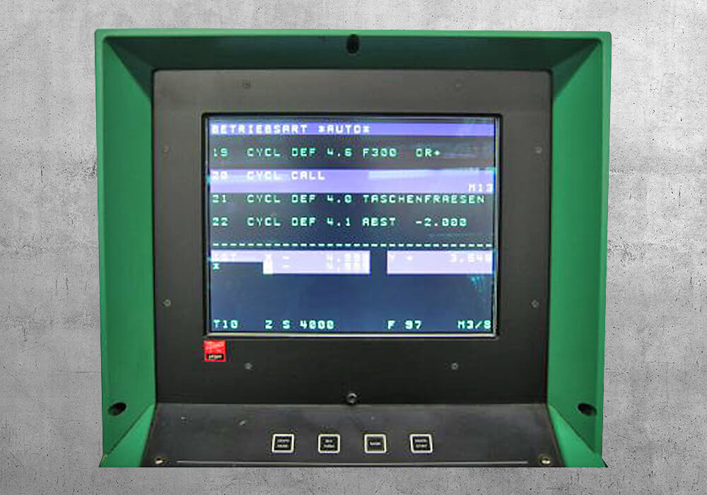 Philips CNC 432-9 retrofit - BVS Industrie-Elektronik