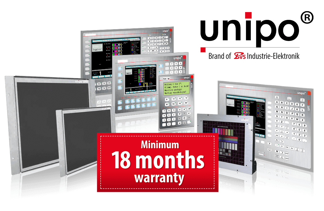 Unipo® Our own HMI/IPC solutions for discontinued systems - BVS Industrie-Elektronik